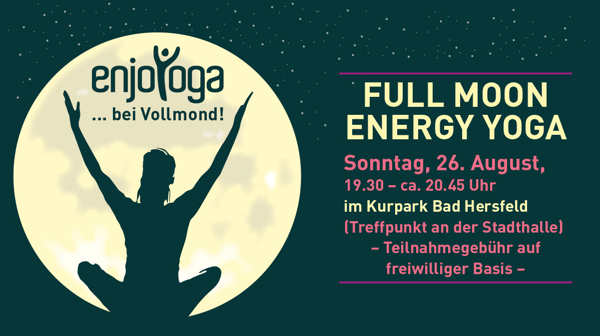 Full Moon Energy Yoga